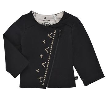Oblečenie Dievčatá Cardigany Ikks XS17020-02 Čierna