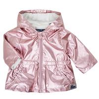 Oblečenie Dievčatá Parky Ikks XS42010-31 Ružová