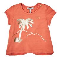 Oblečenie Dievčatá Tričká s krátkym rukávom Ikks XS10080-67 Oranžová