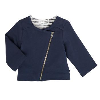 Oblečenie Dievčatá Cardigany Ikks XS17030-48 Námornícka modrá