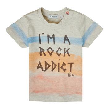 Oblečenie Chlapci Tričká s krátkym rukávom Ikks XS10061-60 Viacfarebná