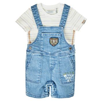 Oblečenie Chlapci Módne overaly Ikks XS37011-84 Modrá