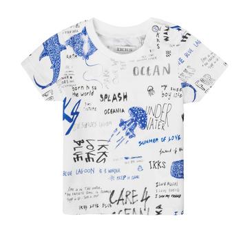 Oblečenie Chlapci Tričká s krátkym rukávom Ikks XS10021-19 Viacfarebná