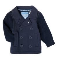 Oblečenie Chlapci Cardigany Ikks XS17001-48 Námornícka modrá