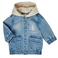 Oblečenie Chlapci Bundy  Ikks XS40021-84 Modrá