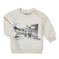 Oblečenie Chlapci Mikiny Ikks XS15011-60 Biela
