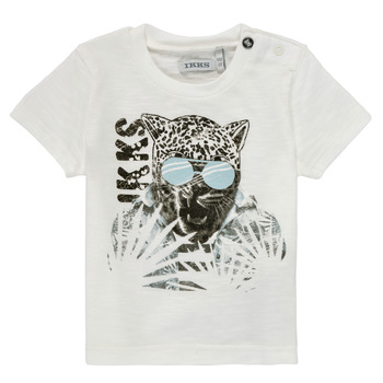 Oblečenie Chlapci Tričká s krátkym rukávom Ikks XS10161-19 Biela