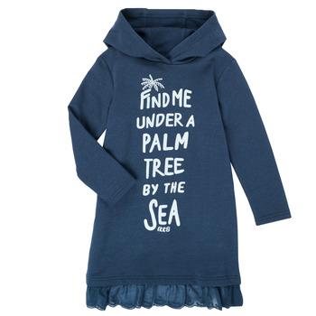 Oblečenie Dievčatá Krátke šaty Ikks XS30092-48-J Námornícka modrá