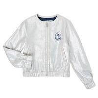 Oblečenie Dievčatá Saká a blejzre Ikks XS17042-18-J Strieborná