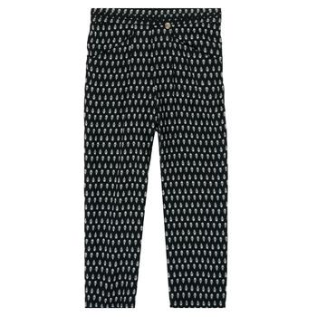 Oblečenie Dievčatá Padavé nohavice Ikks XS22002-02-C Čierna