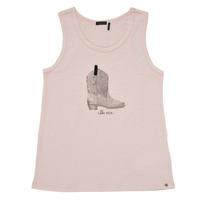 Oblečenie Dievčatá Tielka a tričká bez rukávov Ikks XS10302-31-J Ružová