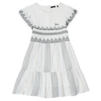 Oblečenie Dievčatá Krátke šaty Ikks XS30012-11-J Biela