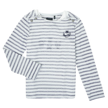 Oblečenie Dievčatá Tričká s dlhým rukávom Ikks XS10052-19-C Viacfarebná