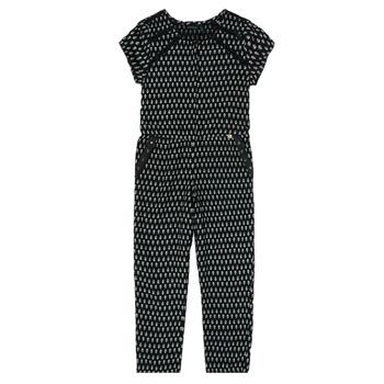 Oblečenie Dievčatá Módne overaly Ikks XS32012-02-C Čierna