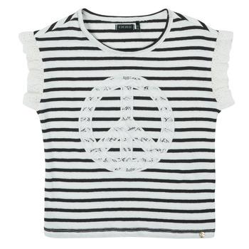 Oblečenie Dievčatá Tričká s krátkym rukávom Ikks XS10022-19-C Viacfarebná