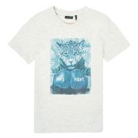 Oblečenie Chlapci Tričká s krátkym rukávom Ikks XS10183-22-C Biela