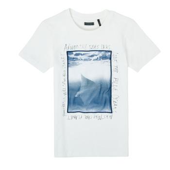 Oblečenie Chlapci Tričká s krátkym rukávom Ikks XS10033-19-C Biela