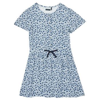 Oblečenie Dievčatá Krátke šaty Ikks XS30102-48-J Modrá