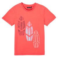 Oblečenie Chlapci Tričká s krátkym rukávom Ikks XS10043-79-J Červená