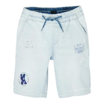 Oblečenie Chlapci Šortky a bermudy Ikks XS25223-82-J Modrá