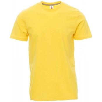 Oblečenie Muži Tričká s krátkym rukávom Payper Wear T-shirt Payper Sunset jaune