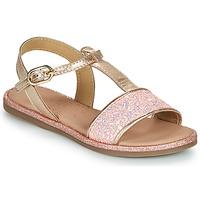 Topánky Dievčatá Sandále Mod'8 PAILLETTA Ružová