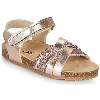 Topánky Dievčatá Sandále Mod'8 KOENIA Ružová / Zlatá