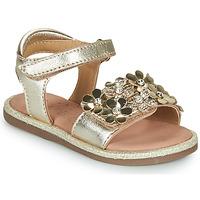 Topánky Dievčatá Sandále Mod'8 PARLOTTE Zlatá