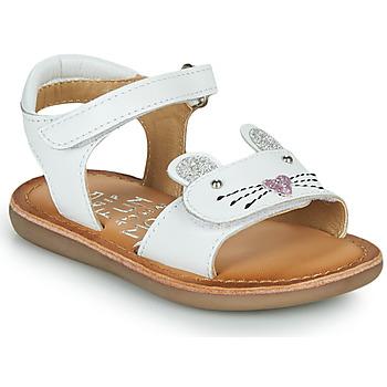 Topánky Dievčatá Sandále Mod'8 CLOONIE Biela