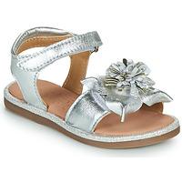 Topánky Dievčatá Sandále Mod'8 PAXILLA Strieborná