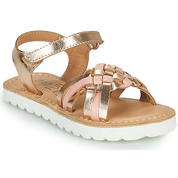 Topánky Dievčatá Sandále Mod'8 JOKINE Ružová