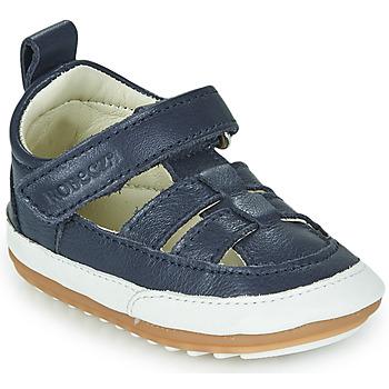 Topánky Deti Sandále Robeez MINIZ Námornícka modrá