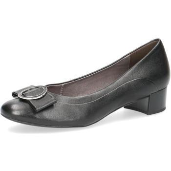 Topánky Ženy Balerínky a babies Caprice Elegant Low Heels Black Black