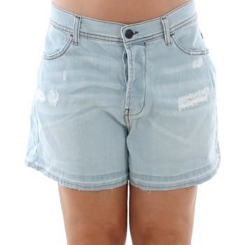 Oblečenie Ženy Šortky a bermudy Sisley 4Z9R59206 SIS Azul claro