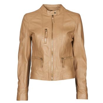 Oblečenie Ženy Kožené bundy a syntetické bundy Oakwood EACH Ťavia hnedá