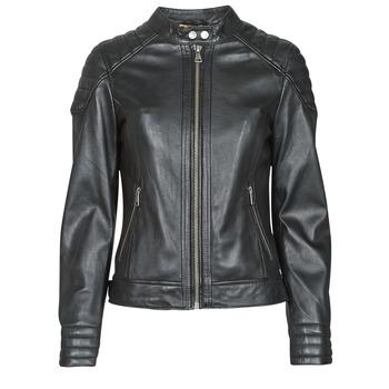 Oblečenie Ženy Kožené bundy a syntetické bundy Oakwood ELLA Čierna