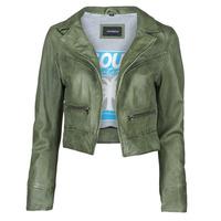 Oblečenie Ženy Kožené bundy a syntetické bundy Oakwood TRISH Zelená