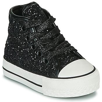 Topánky Dievčatá Členkové tenisky Citrouille et Compagnie OUTIL Čierna