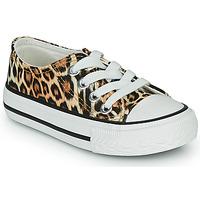 Topánky Dievčatá Nízke tenisky Citrouille et Compagnie OTAL Leopard