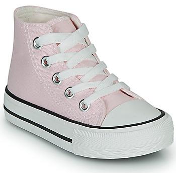 Topánky Dievčatá Členkové tenisky Citrouille et Compagnie OUTIL Ružová