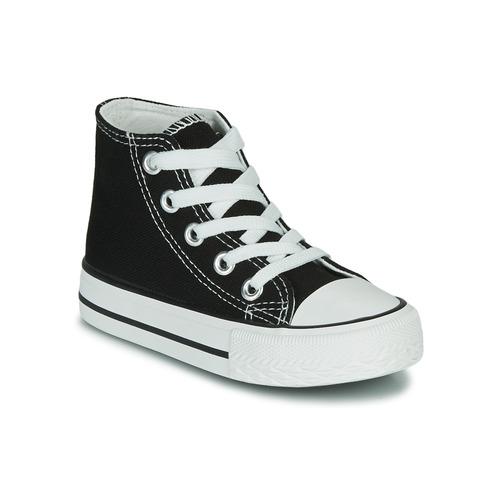 Topánky Deti Členkové tenisky Citrouille et Compagnie OUTIL Čierna