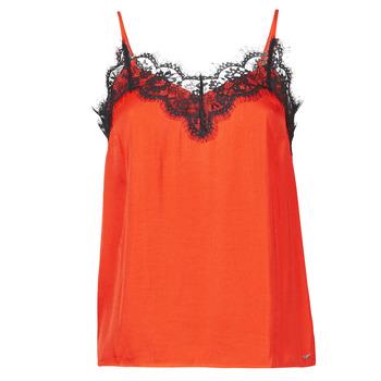Oblečenie Ženy Tielka a tričká bez rukávov Les Petites Bombes AMY Oranžová