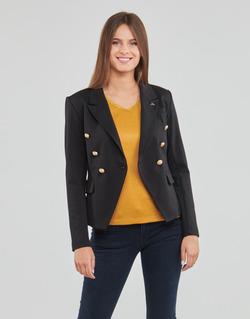 Oblečenie Ženy Saká a blejzre Les Petites Bombes AGATHE Čierna