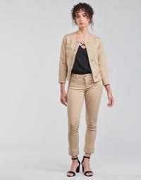 Oblečenie Ženy Nohavice päťvreckové Liu Jo IDEAL Béžová
