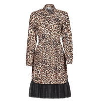 Oblečenie Ženy Krátke šaty Liu Jo WA1218-T9147-T9680 Leopard