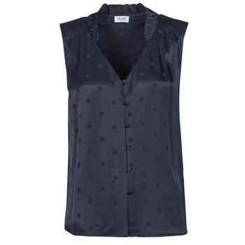 Oblečenie Ženy Blúzky Liu Jo WA1044-T4758-93923 Námornícka modrá