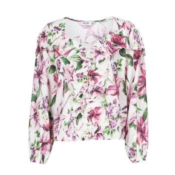 Oblečenie Ženy Blúzky Liu Jo WA1084-T5976-T9706 Kvetovaná