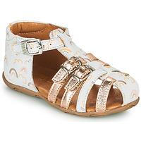Topánky Dievčatá Sandále GBB RIVIERA Biela