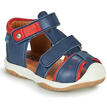 Topánky Chlapci Sandále GBB EUZAK Modrá