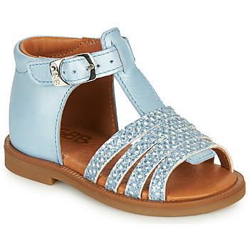 Topánky Dievčatá Sandále GBB ATECA Modrá